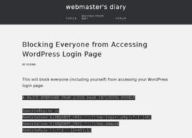 webmasterdiary.org