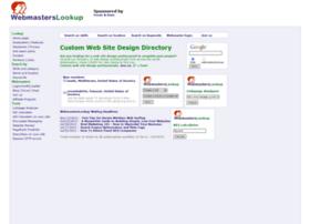 webmasterslookup.com