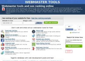 webmastertools.fm