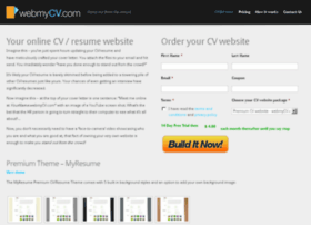 webmycv.com