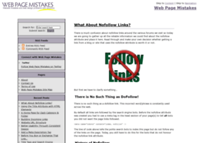 webpagemistakes.com