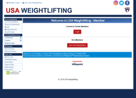 Webpoint.usaweightlifting.org