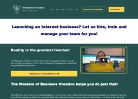 webpreneuracademy.com