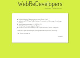 webredevelopers.de