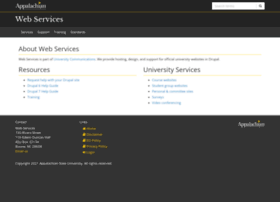 webservices.appstate.edu