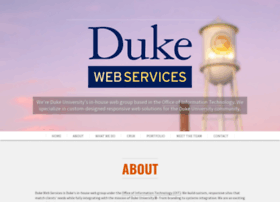 webservices.duke.edu
