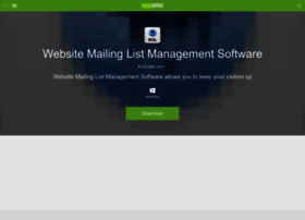 website-mailing-list-management-software.apponic.com