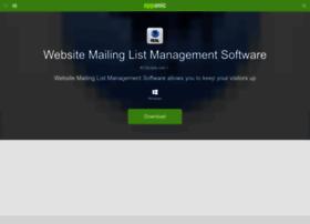 website-mailing-list-management-software.apponic.com