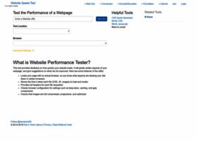 website-performance.org