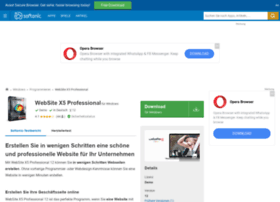 website-x5-professional.softonic.de