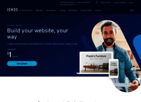 website.1and1.com