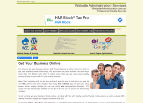 websiteadministrator.com.au