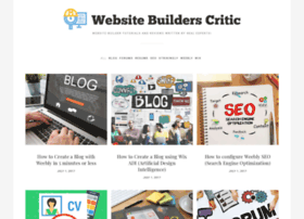 websitebuilderscritic.com