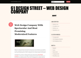 websitedesigncompany61designstreet.wordpress.com