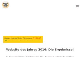 websitedesjahres.de