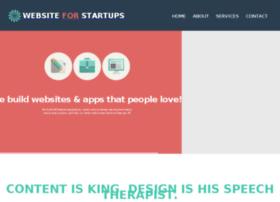 websiteforstartups.com