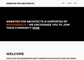 websitesforarchitects.org