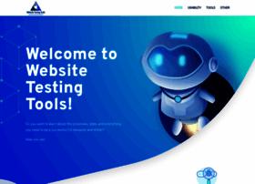 websitetestingtools.com