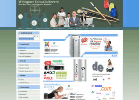 webspace-domain-server.de