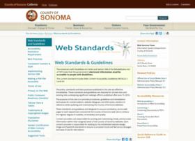 webstandards.sonoma-county.org