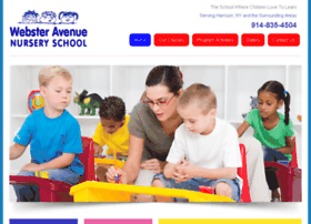 websteravenurseryschool.com