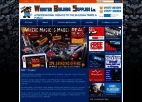 Websterbuildingsupplies.co.uk