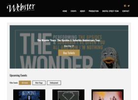 webstertheater.com
