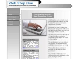 webstopone.com