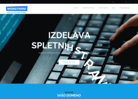 webstrani.si