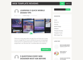 webtemplatereviews.com