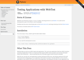 webtest.readthedocs.org