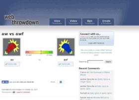 webthrowdown.com