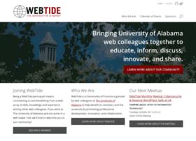 webtide.ua.edu