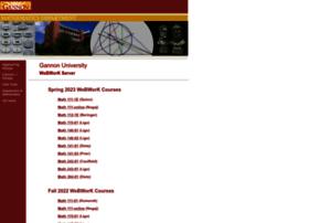 webwork.gannon.edu
