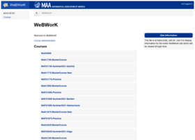 webwork.wit.edu