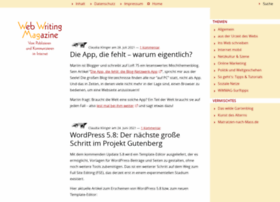 webwriting-magazin.de