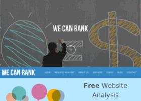 wecanrank.com