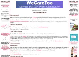 wecaretoo.com