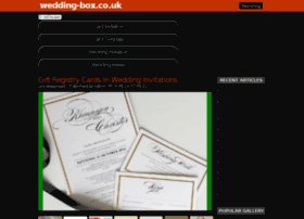 wedding-box.co.uk