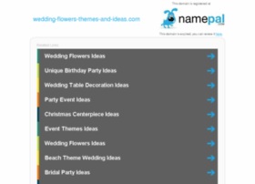 wedding-flowers-themes-and-ideas.com