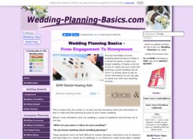 wedding-planning-basics.com