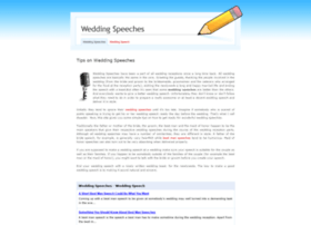 wedding-speech.weebly.com