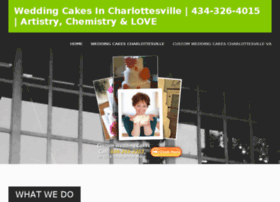 weddingcakescharlottesville.com