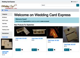 weddingcardexpress.com