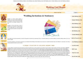weddingcardshoppe.com