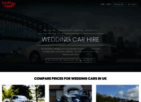 weddingcarhire.co.uk