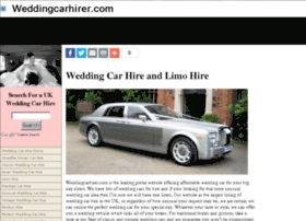 weddingcarhirer.com