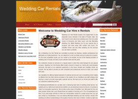 weddingcarhirerental.com
