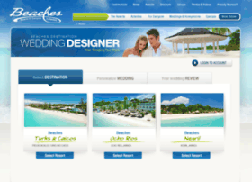 weddingdesigner.beaches.com