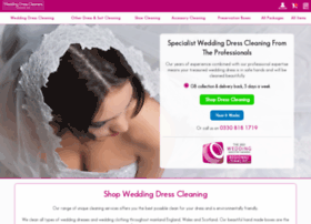 weddingdresscleaners.net